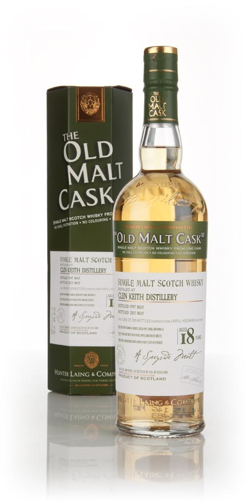 Glen Keith 18 Year Old 1997 (cask 11405) - Old Malt Cask (Hunter Laing Single Malt Whisky
