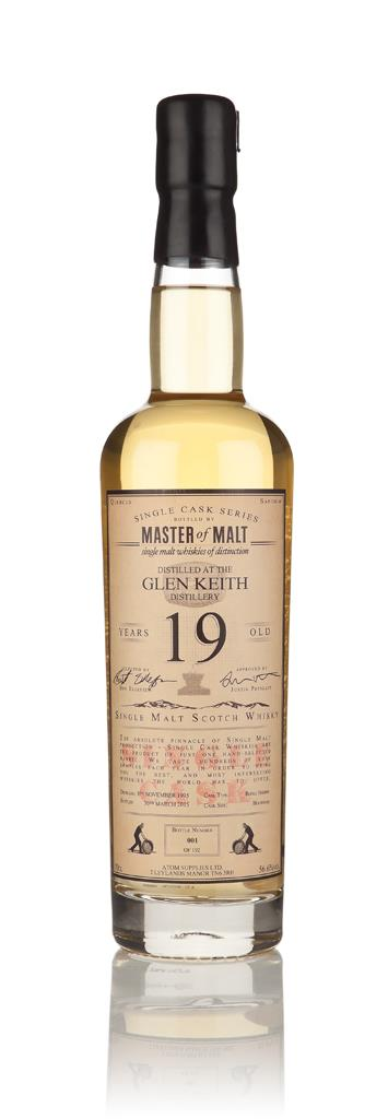 Glen Keith 19 Year Old 1995 - Single Cask (Master of Malt) Single Malt Whisky