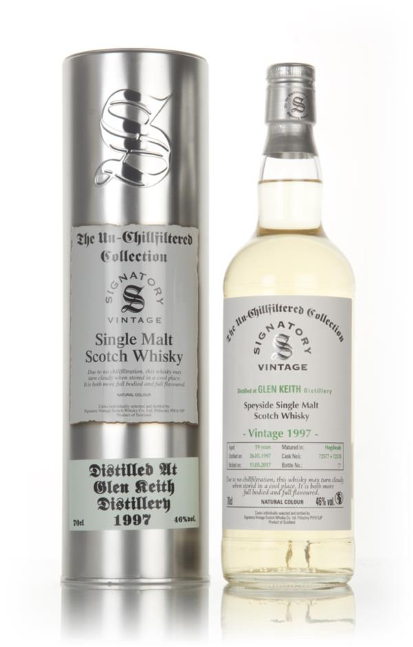 Glen Keith 19 Year Old 1997 (cask 72577 & 72528) - Un-Chillfiltered Co Single Malt Whisky