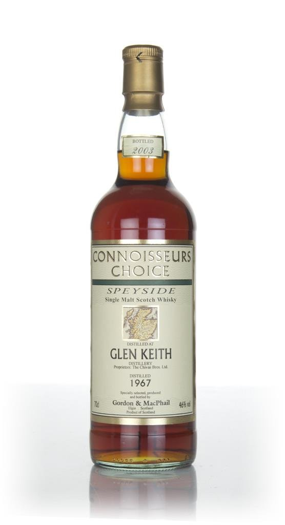 Glen Keith 1967 (bottled 2003) - Connoisseurs Choice (Gordon & MacPhai Single Malt Whisky