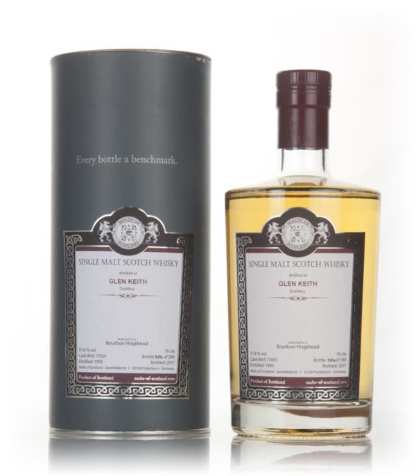 Glen Keith 1995 (bottled 2017) (cask 17001) - Malts of Scotland Single Malt Whisky