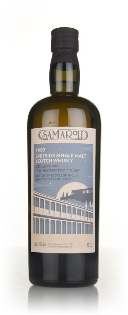 Glen Keith 1997 (bottled 2017) (cask 72629) - Samaroli Single Malt Whisky