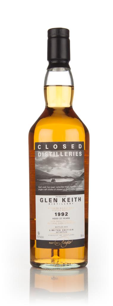 Glen Keith 21 Year Old 1992 - Closed Distilleries (Part Des Anges) 3cl Single Malt Whisky 3cl Sample