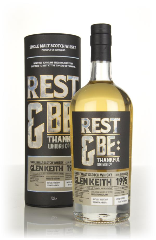 Glen Keith 21 Year Old 1995 (cask 171288) (Rest & Be Thankful) Single Malt Whisky