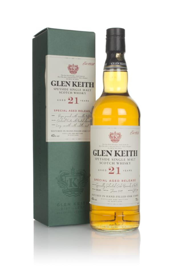 Glen Keith 21 Year Old - Secret Speyside Collection Single Malt Whisky