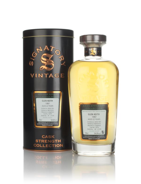 Glen Keith 22 Year Old 1997 (cask 72618) - Cask Strength Collection (S Single Malt Whisky