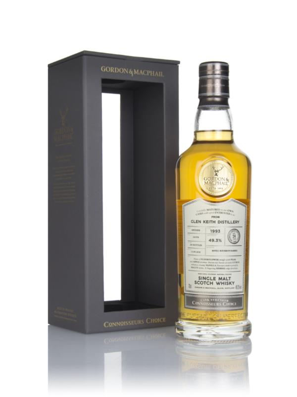 Glen Keith 24 Year Old 1993 - Connoisseurs Choice (Gordon & MacPhail) Single Malt Whisky