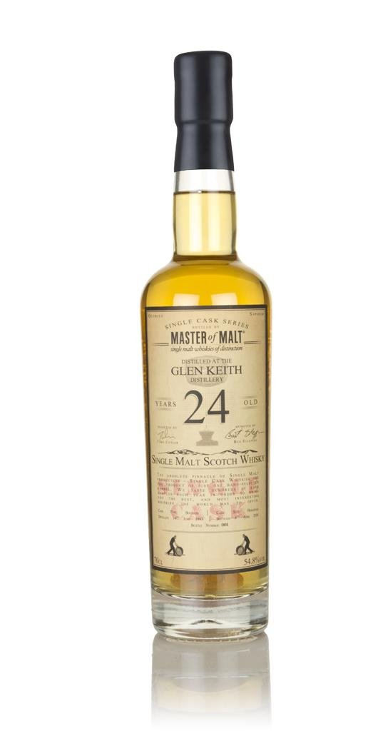 Glen Keith 24 Year Old 1993 - Single Cask (Master of Malt) 3cl Sample Single Malt Whisky