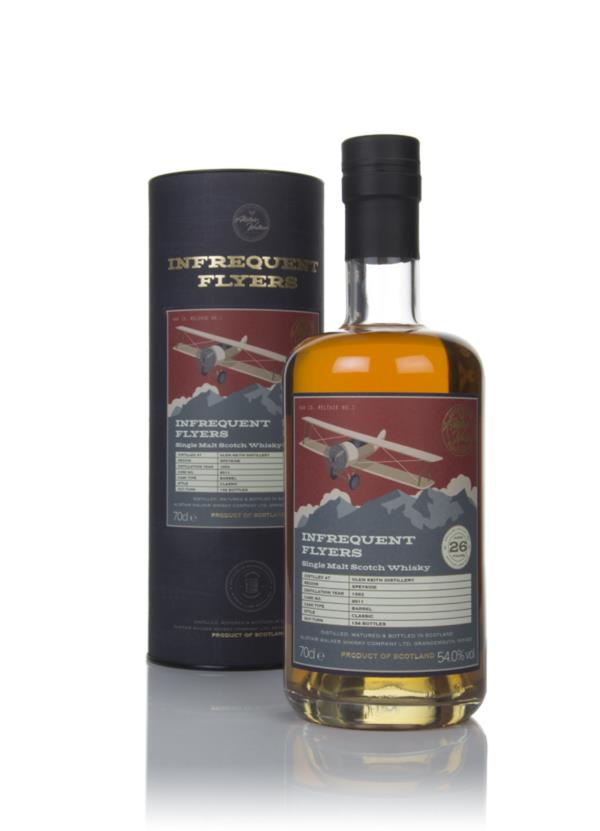 Glen Keith 26 Year Old 1993 (cask 8511) - Infrequent Flyers (Alistair Single Malt Whisky
