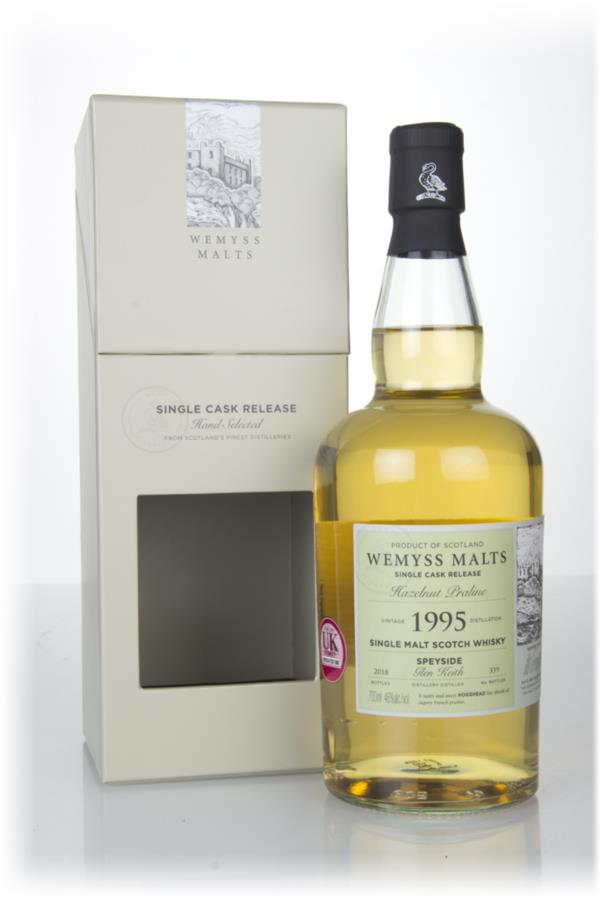 Hazelnut Praline 1995 (bottled 2018) - Wemyss Malts (Glen Keith) Single Malt Whisky