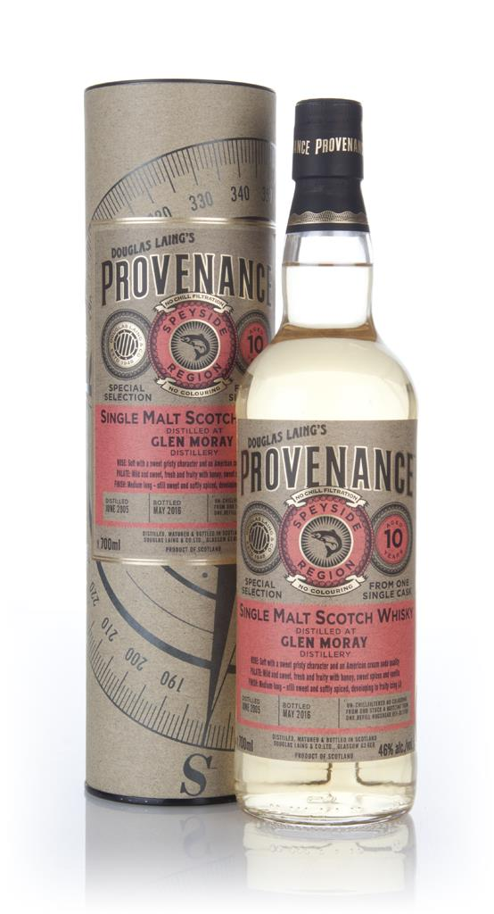 Glen Moray 10 Year Old 2005 (cask 11186) - Provenance (Douglas Laing) Single Malt Whisky