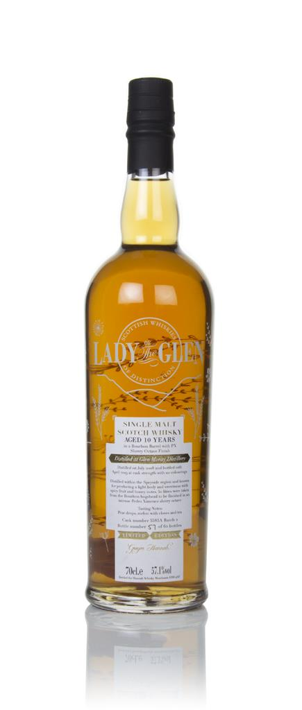 Glen Moray 10 Year Old 2008 (cask 5585A - Batch 2) - Lady of the Glen Single Malt Whisky