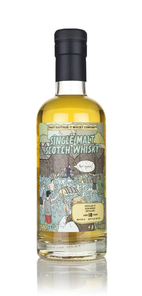 Glen Moray 10 Year Old (That Boutique-y Whisky Company) Single Malt Whisky