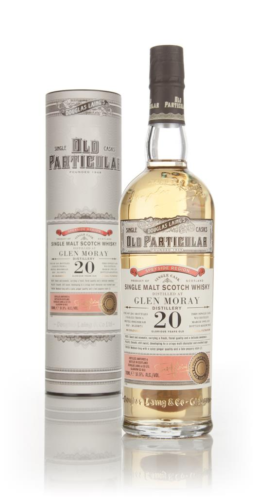 Glen Moray 20 Year Old 1995 (cask 10871) - Old Particular (Douglas Lai Single Malt Whisky