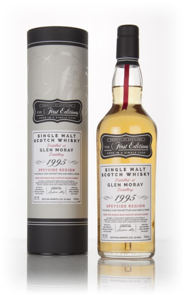 Glen Moray 21 Year Old 1995 (cask 12306) - The First Editions (Hunter Single Malt Whisky