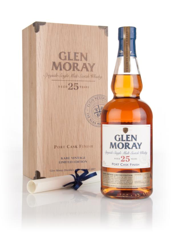 Glen Moray 25 Year Old 1988 Port Cask Finish Single Malt Whisky