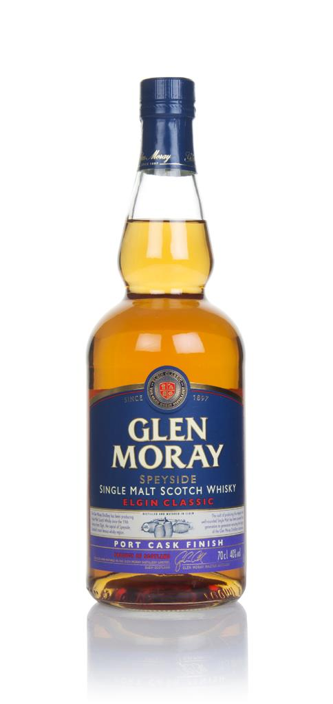 Glen Moray Classic Port Cask Finish Single Malt Whisky