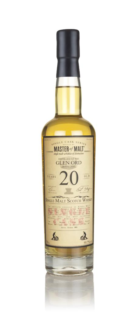 Glen Ord 20 Year Old 1997 - Single Cask (Master of Malt) Single Malt Whisky