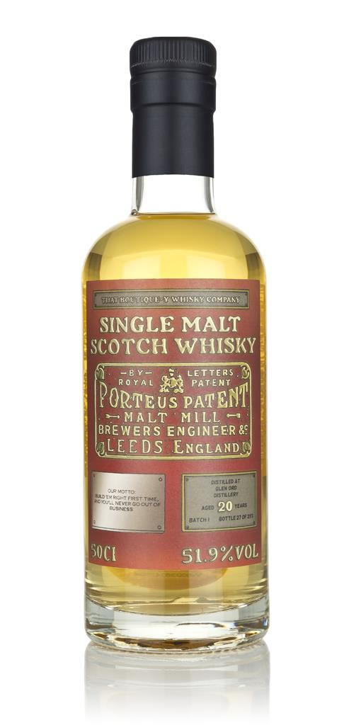 Glen Ord 20 Year Old - Batch 1 (That Boutique-y Whisky Company) Single Malt Whisky