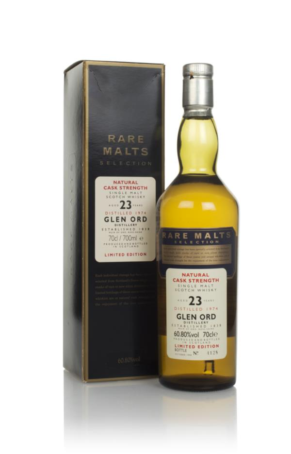Glen Ord 23 Year Old 1974 - Rare Malts Single Malt Whisky