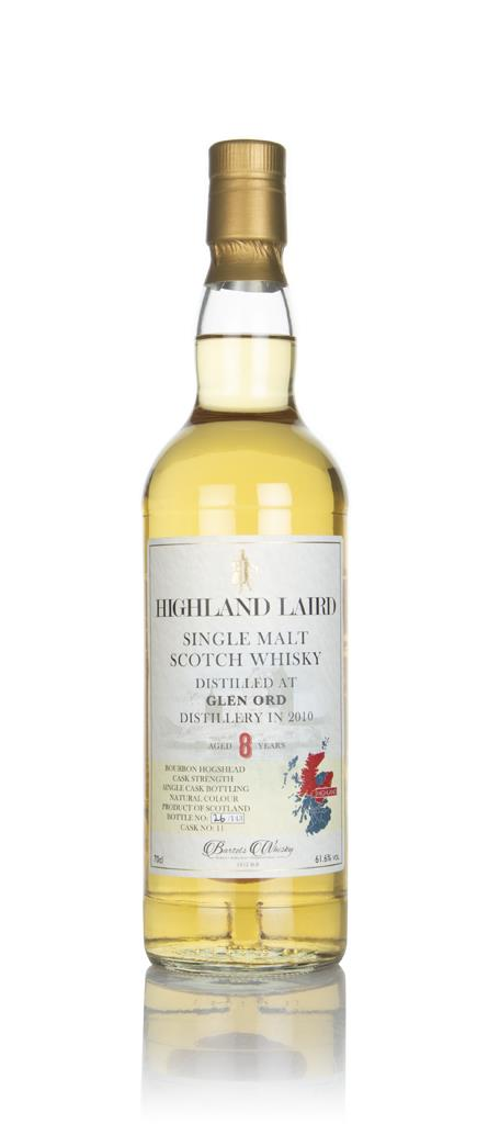 Glen Ord 8 Year Old 2010 (cask 11) -  Highland Laird (Bartels Whisky) Single Malt Whisky