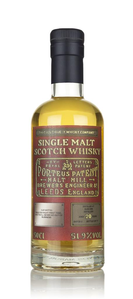 Glen Ord 20 Year Old (That Boutique-y Whisky Company) 3cl Sample Single Malt Whisky