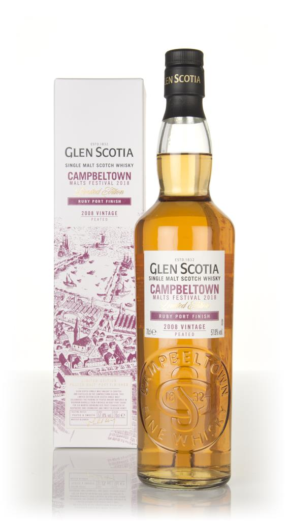 Glen Scotia 10 Year Old 2008 - Campbeltown Malts Festival 2018 Single Malt Whisky