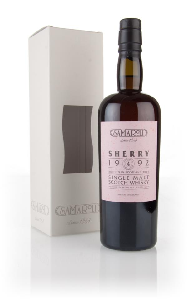Glen Scotia 1992 (bottled 2014) (cask 4) - Samaroli 3cl Sample Single Malt Whisky