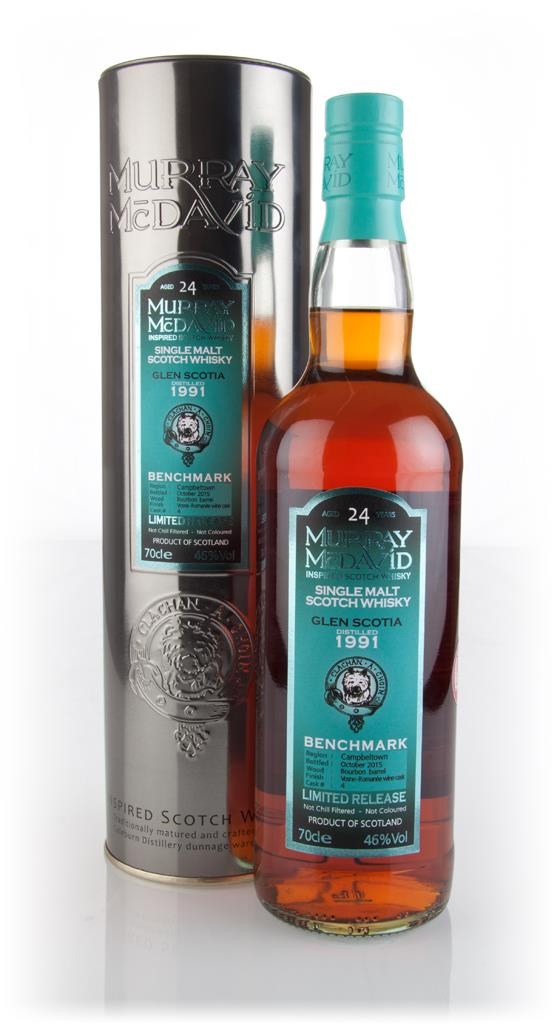Glen Scotia 24 Year Old 1991 (cask 4) - Benchmark (Murray McDavid) Single Malt Whisky