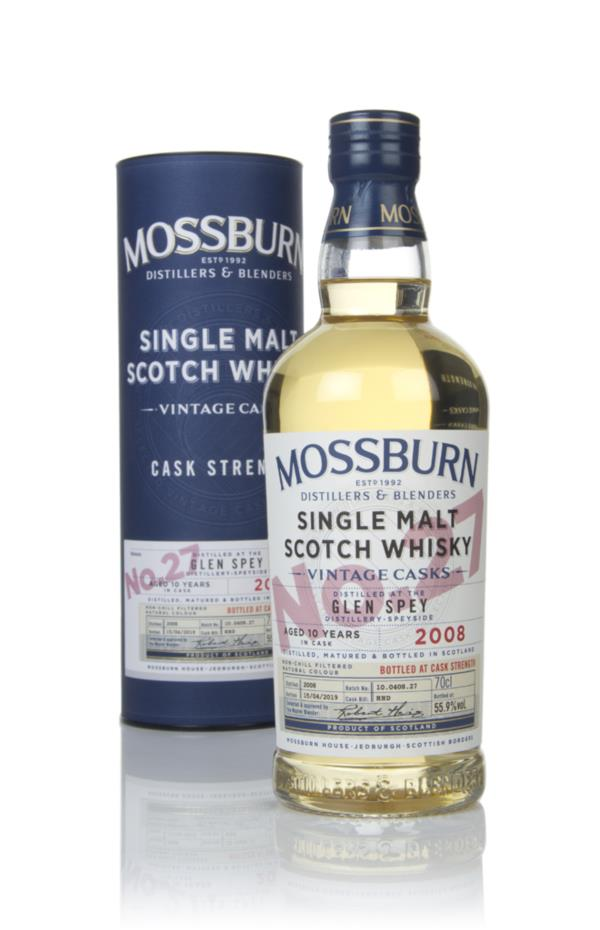 Glen Spey 10 Year Old 2008 - Vintage Casks (Mossburn) Single Malt Whisky