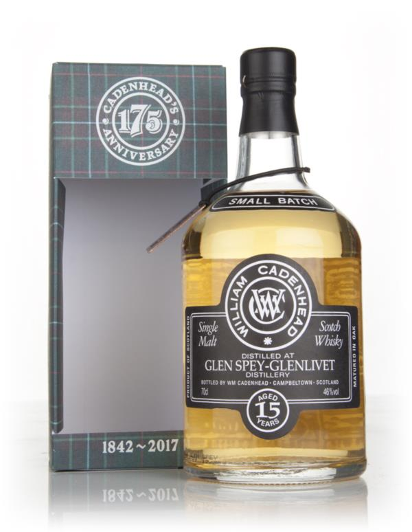 Glen Spey 15 Year Old 2001 - Small Batch (WM Cadenhead) Single Malt Whisky