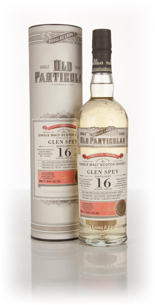 Glen Spey 16 Year Old 1999 (cask 9985) - Old Particular (Douglas Laing Single Malt Whisky