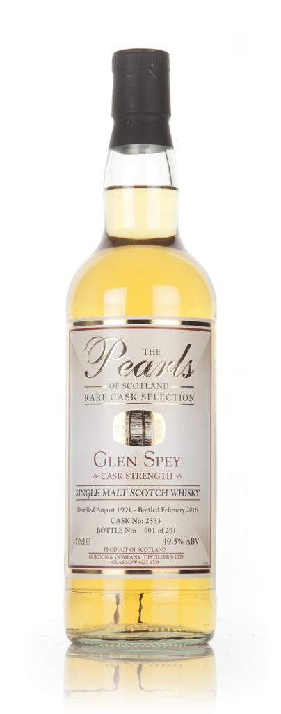 Glen Spey 24 Year Old 1991 (cask 2533) - Pearls of Scotland (Gordon & Single Malt Whisky