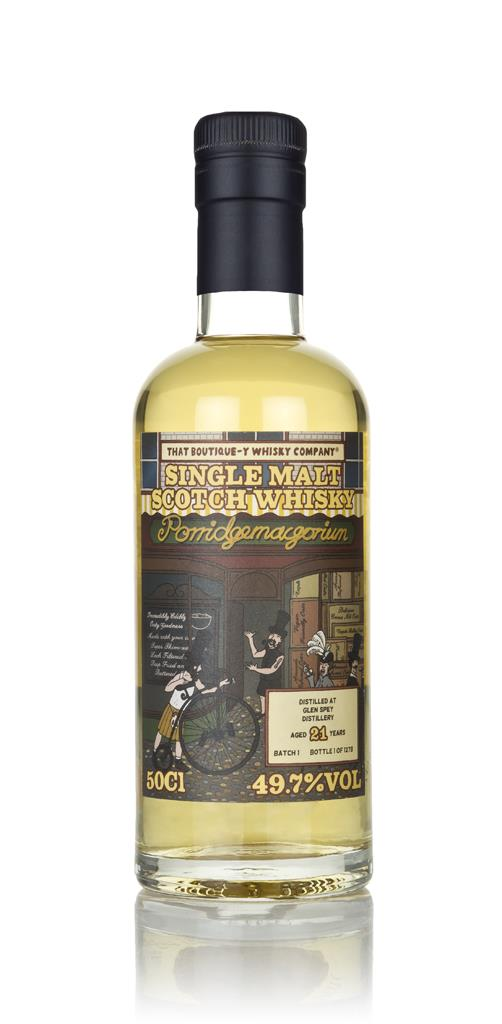 Glen Spey 21 Year Old (That Boutique-y Whisky Company) Single Malt Whisky