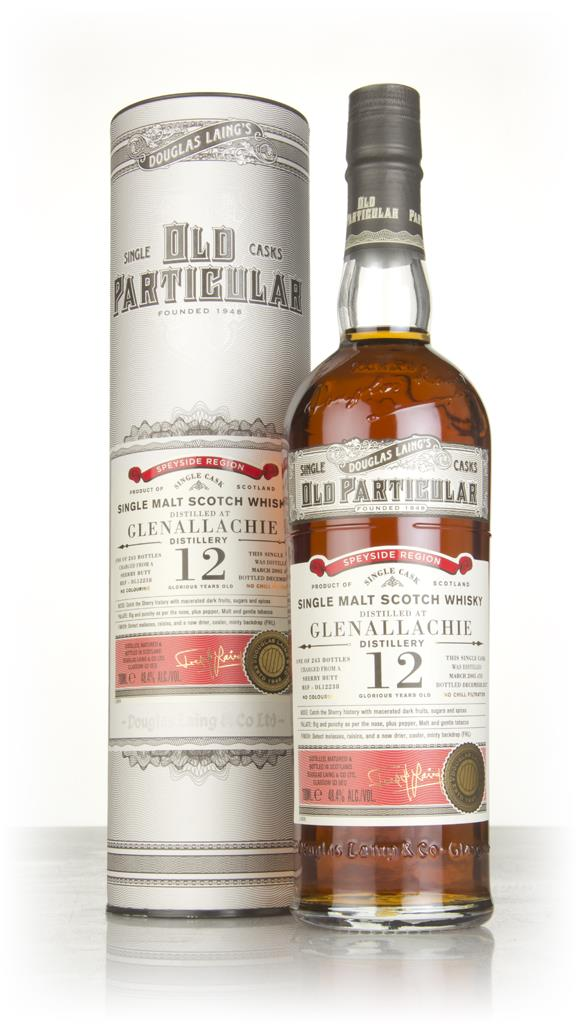 Glenallachie 12 Year Old 2005 (cask 12238) - Old Particular (Douglas L Single Malt Whisky