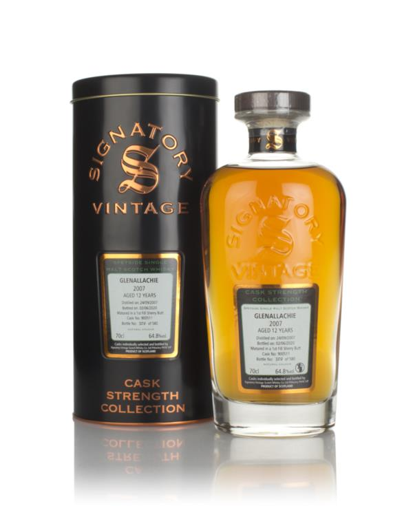 Glenallachie 12 Year Old 2007 (cask 900511) - Cask Strength Collection Single Malt Whisky