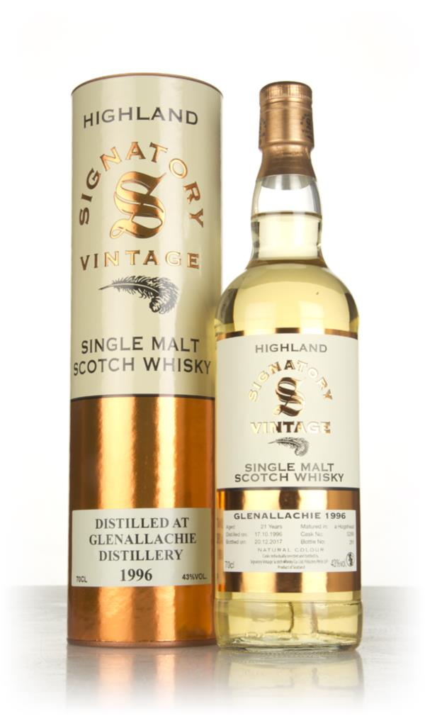 Glenallachie 21 Year Old 1996 (cask 5266) - Signatory Single Malt Whisky
