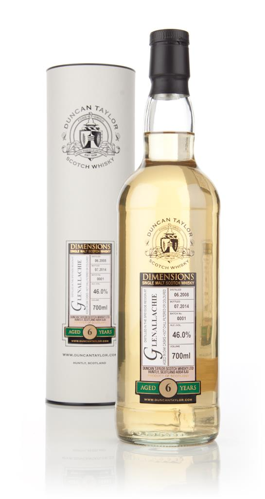 Glenallachie 6 Year Old 2008 - Dimensions (Duncan Taylor) Single Malt Whisky