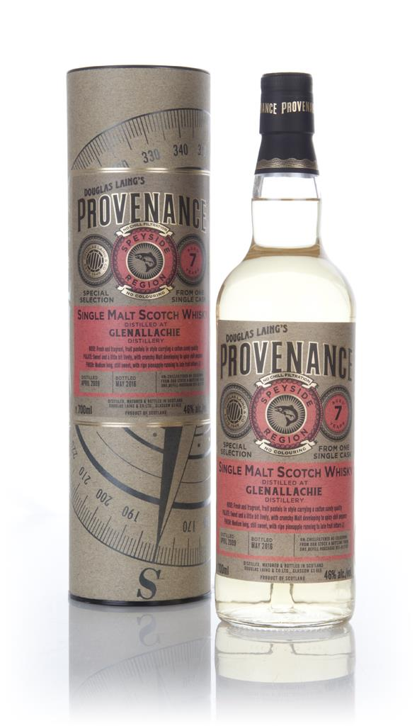 Glenallachie 7 Year Old 2009 (cask 11187) - Provenance (Douglas Laing) Single Malt Whisky