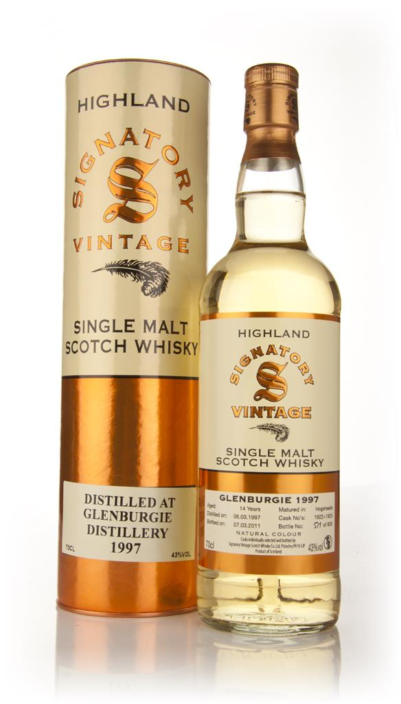 Glenburgie 14 Year Old 1997 (Signatory) Single Malt Whisky