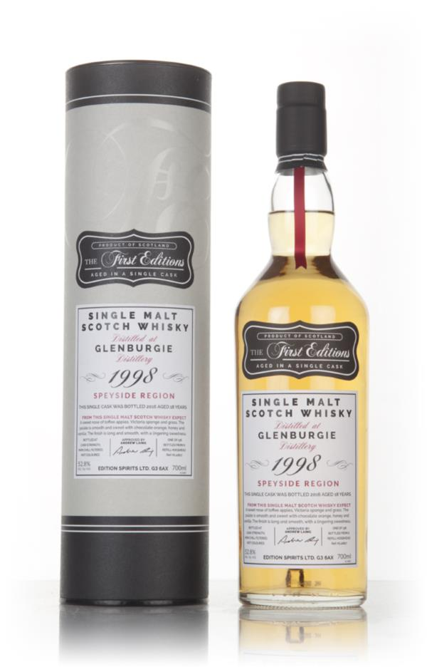 Glenburgie 18 Year Old 1998 (cask 12827) - The First Editions (Hunter Single Malt Whisky