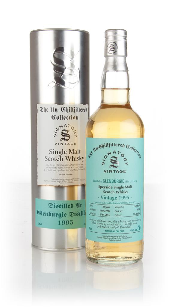 Glenburgie 20 Year Old 1995 (cask 6488) - Un-Chillfiltered Collection Single Malt Whisky