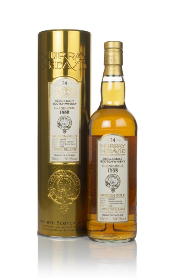 Glenburgie 24 Year Old 1995 (cask 6328) - Mission Gold (Murray McDavid Single Malt Whisky