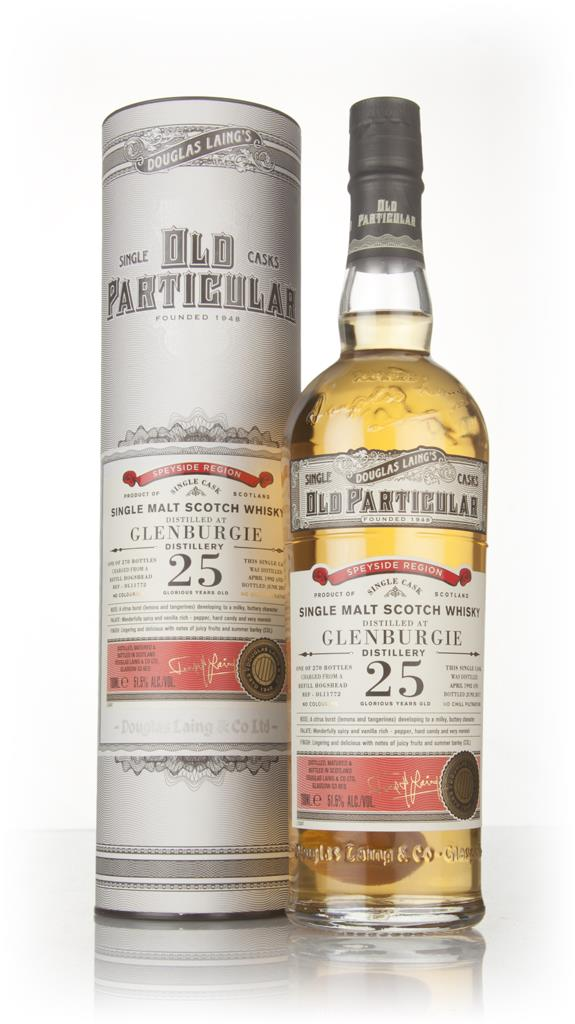 Glenburgie 25 Year Old 1992 (cask 11772) - Old Particular (Douglas Lai Single Malt Whisky 3cl Sample