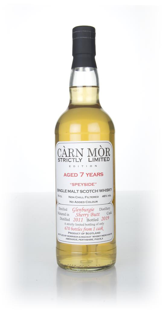 Glenburgie 7 Year Old 2011 - Strictly Limited (Carn Mor) Single Malt Whisky