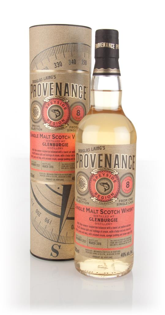 Glenburgie 8 Year Old 2007 (cask 11065) - Provenance (Douglas Laing) Single Malt Whisky