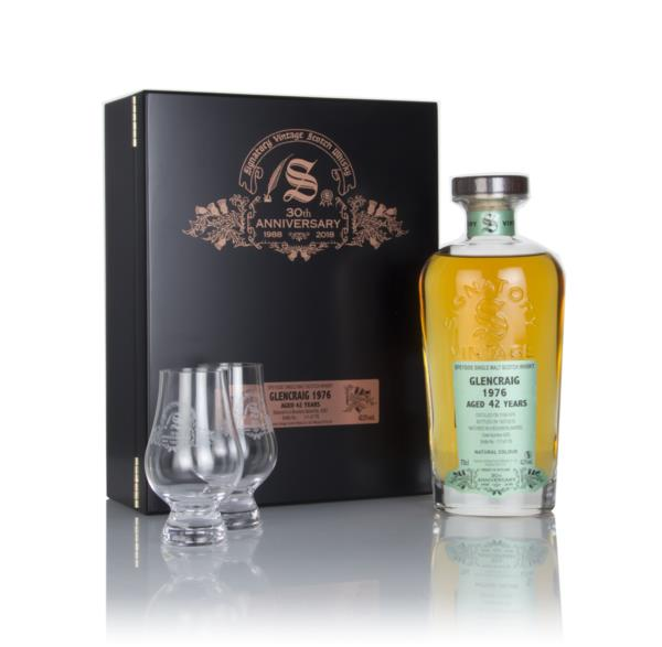 Glencraig 42 Year Old 1976 (cask 4283) - 30th Anniversary Gift Box (Si Single Malt Whisky