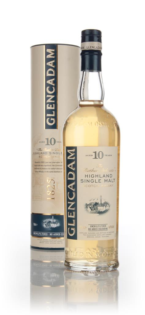 Glencadam 10 Year Old Single Malt Whisky