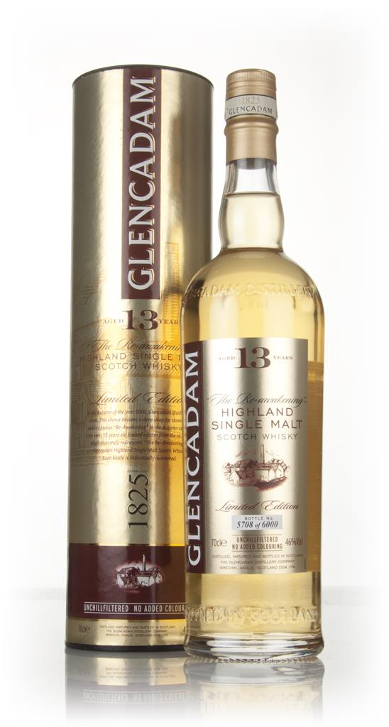 Glencadam 13 Year Old - The Reawakening Single Malt Whisky