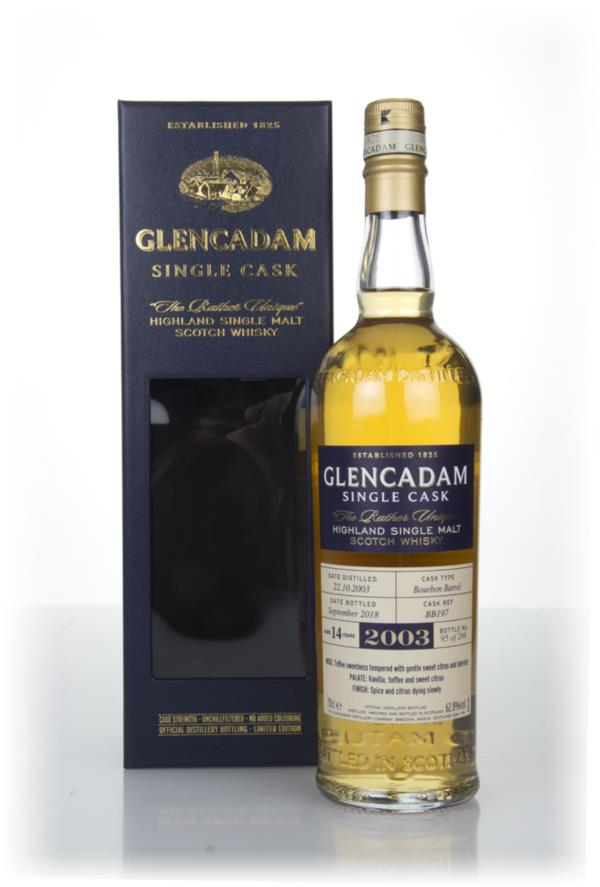 Glencadam 14 Year Old Bourbon Cask #197 Single Malt Whisky